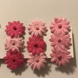 Rocycle Accessories - Rocycle pink barrettes 4 for $10